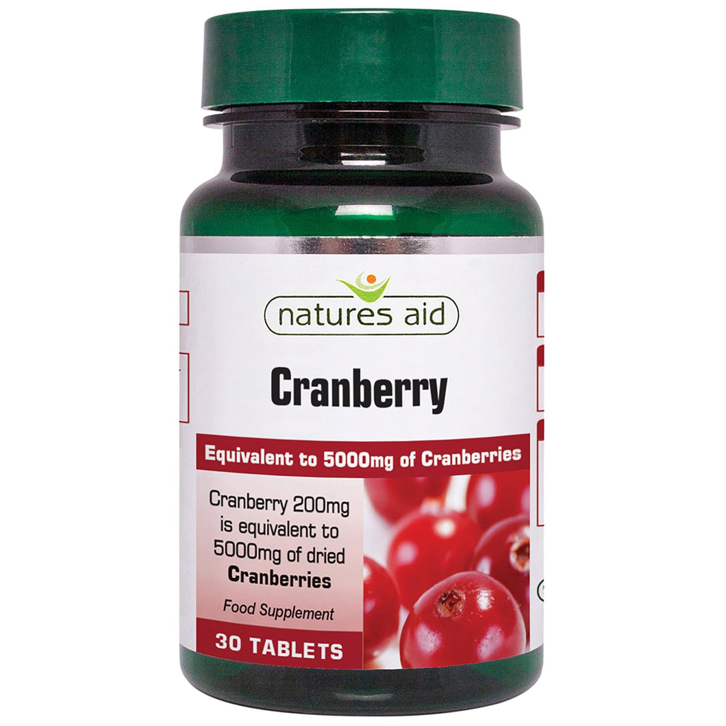 Natures Aid Cranberry 30 Tabs