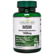 Natures Aid MSM 1000mg
