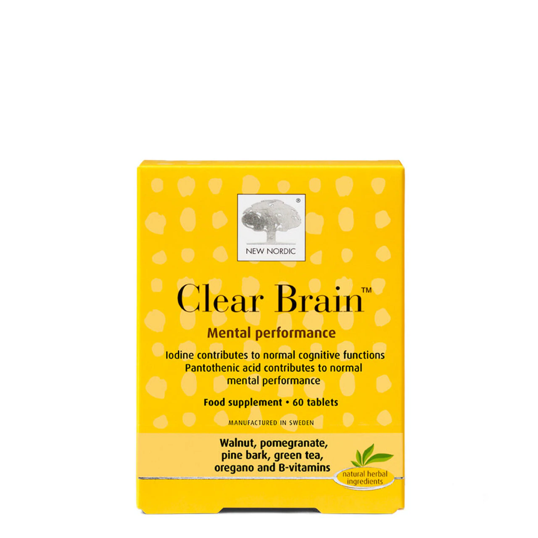 New Nordic Clear Brain 60 Tabs