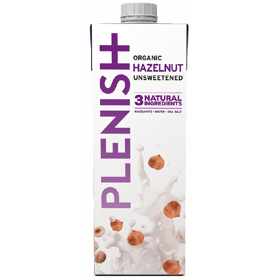 Plenish Organic Hazelnut Milk Alternative 1L