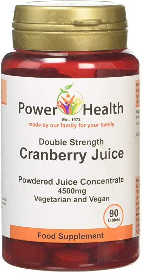 Power Health Cranberry Juice 90 Tabs