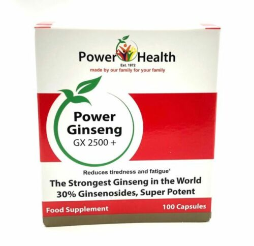 Power Health Power Ginseng GX 2500+ 100 Caps