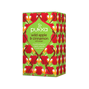 Pukka Organic Tea Wild Apple & Cinnamon