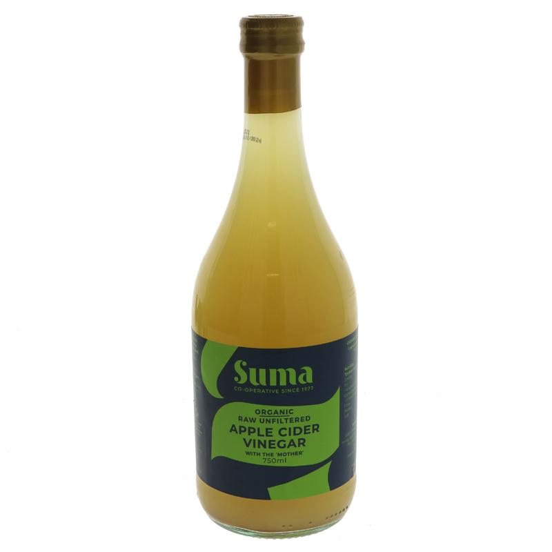 Suma Organic Apple Cider Vinegar 750mls