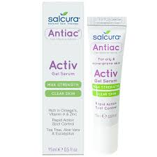 Salcura Antiac Activ Gel Serum (Max Strength) 15ml
