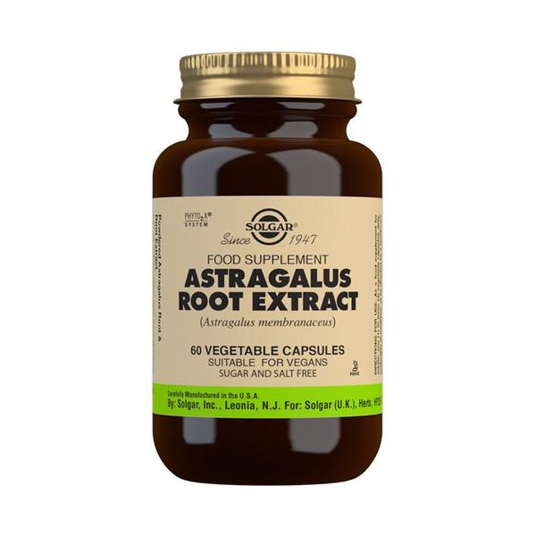 Solgar Astragalus Root Extract 60 Caps