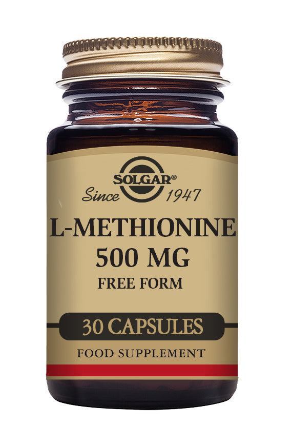 Solgar L-Methionine 500mg  30 Caps
