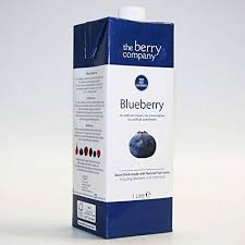 The Berry Co. Blueberry Juice 1L