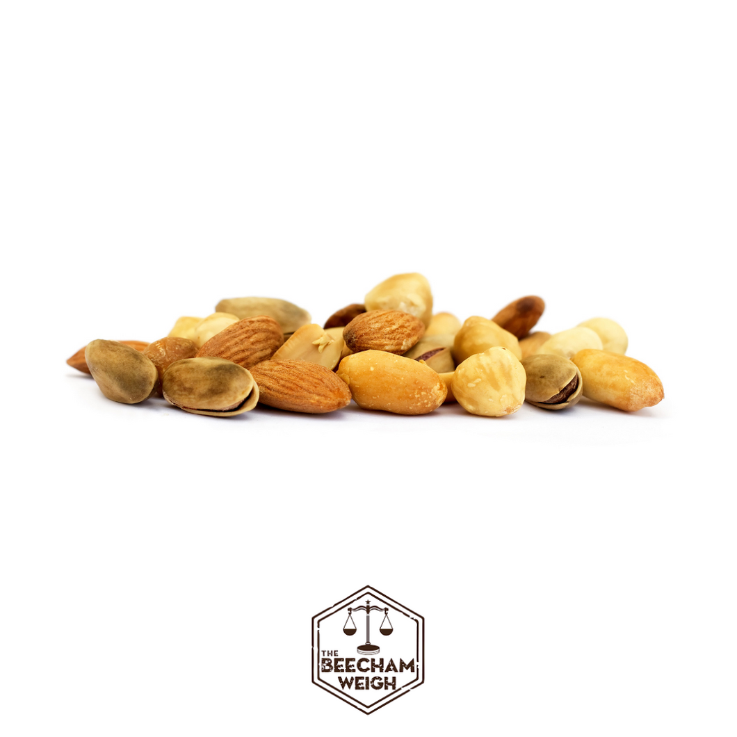 Weigh - Organic Mixed Chopped Nuts (100g)