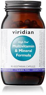 Viridian High Five Multivitamin & Mineral Formula 90 Caps