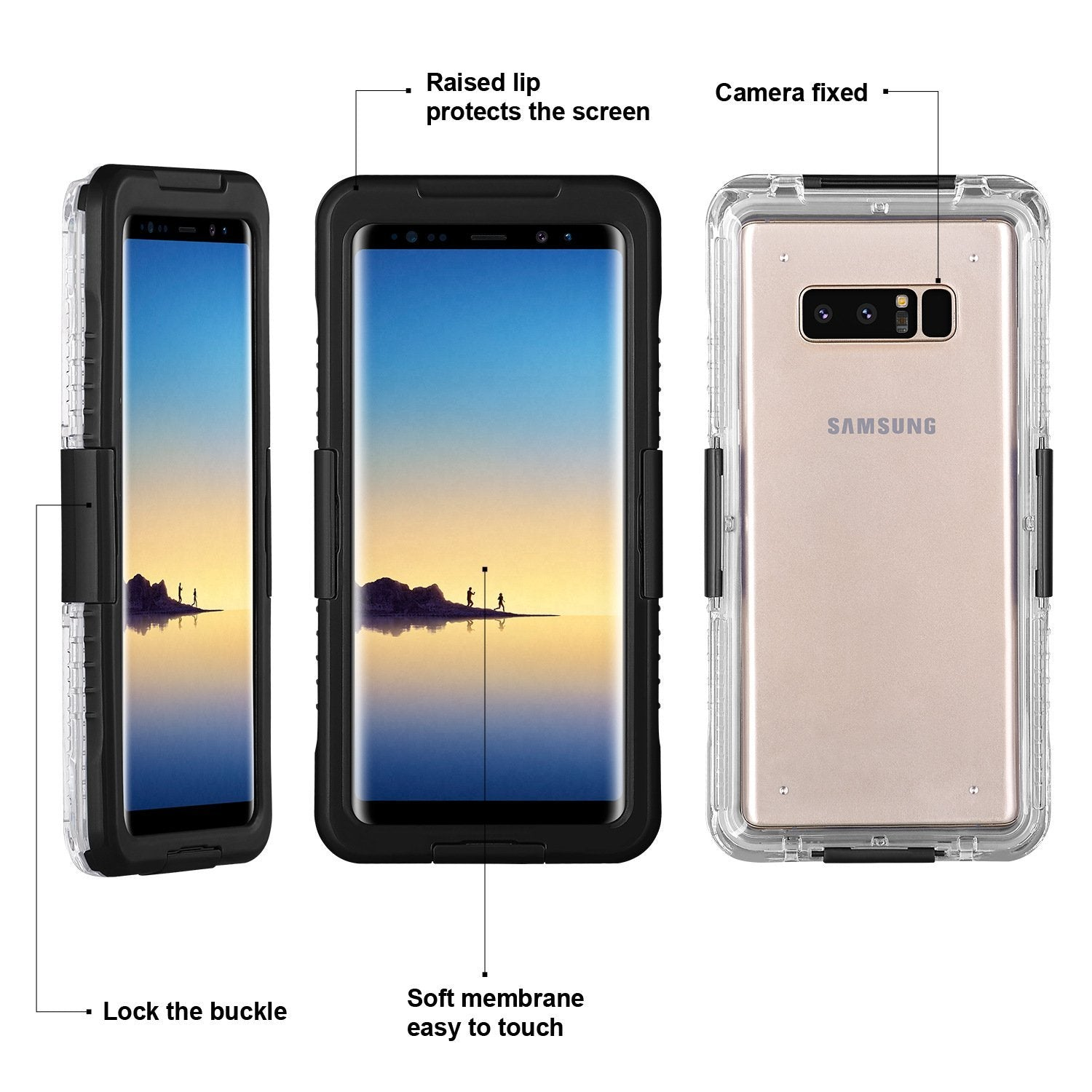 Waterproof and Shockproof Phone Case For Samsung