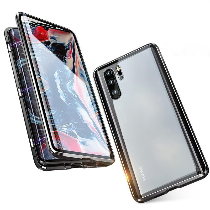 Upgraded Two Side Tempered Glass Magnetic Adsorption Phone Case for Huawei P30 P30Pro