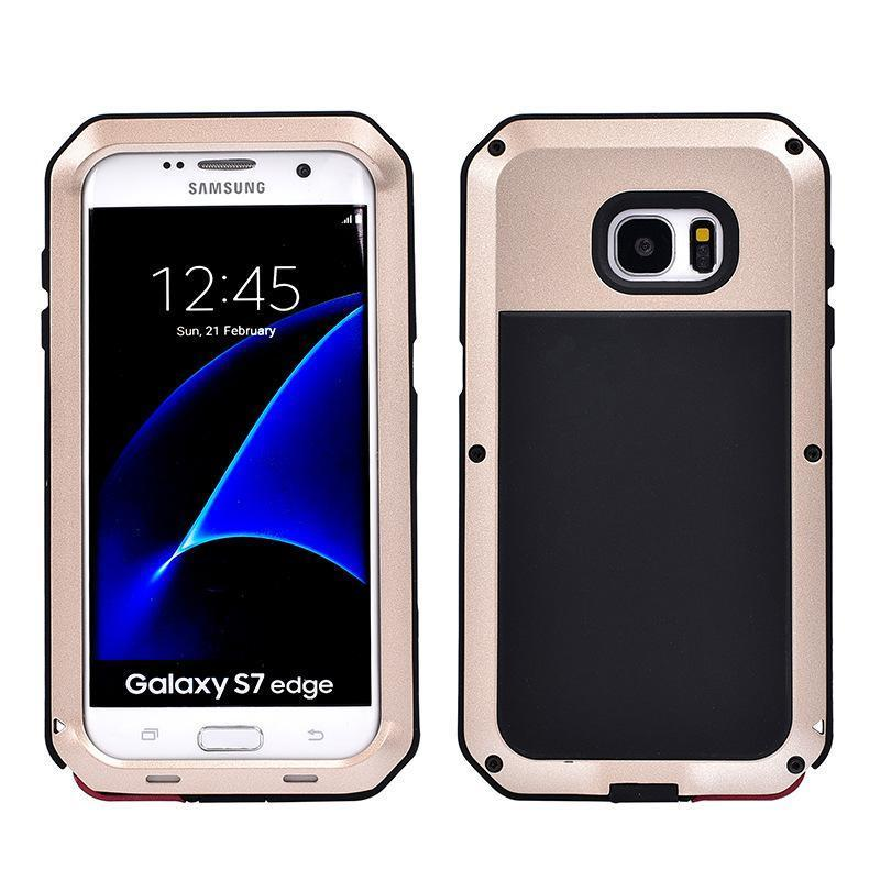 Luxury Doom Armor Waterproof Metal Aluminum Phone Case For Samsung S7 edge