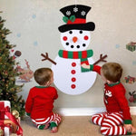 DIY game party children birthday Christmas snowman