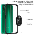 2020 Ultra Thin 2-in-1 Four-Corner Anti-Fall Sergeant Case For HUAWEI P40 Lite