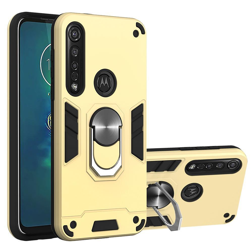2020 All New 4-in-1 Special Armor Case For Motorola G8 Series