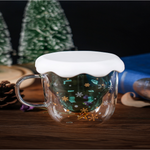 Pyrex Christmas tree cup