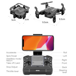 NEW TYPE OF DRONE WITH ADVANCED FUNCTIONS OF HD CAMERA