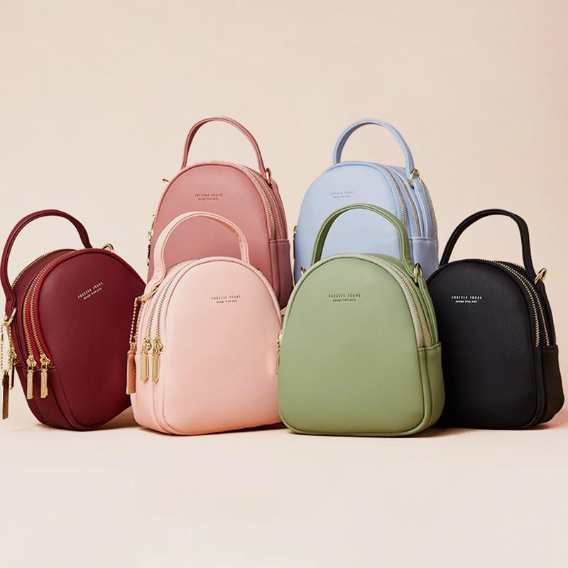 Multi-Compartment Lightweight Crossbody Bag Phone Bag