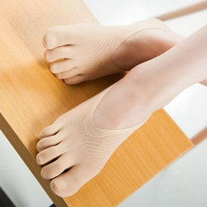 5 Toes Socks For Women Pilates Non-slip Dance Socks