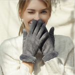Lady Winter Outdoor Touch Screen Gloves