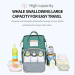 🔥🔥 2020 New Mummy Backpack Multifunction Travel Stroller Nappy Bag