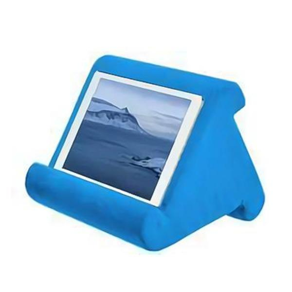 Multi-Angle Soft pillow pad Stand for Tablets, Books, Magazines & E-Readers!