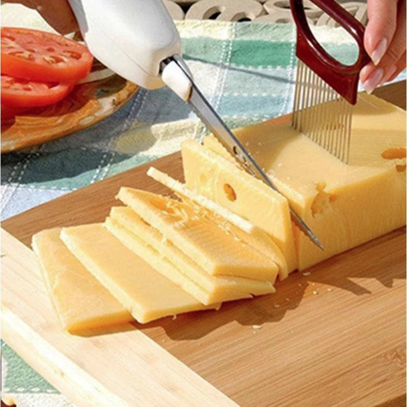 EASY CUT ELECTRIC CORDLESS KNIFE FOR MEAT FRUIT VEGETABLE