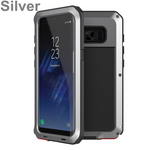 Luxury Armor Metal Heavy Duty Protection Case for Samsung