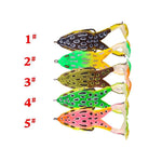 Double Propeller Frog Soft Bait