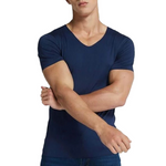 Ice silk versatile leisure short-sleeved