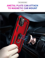 Luxury Armor Ring Bracket Phone Case For iPhone 12 Series
