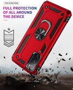 2020 ALL New Luxury Armor Shockproof With Ring Kickstand  For SAMSUNG Galaxy S20 FE 5G