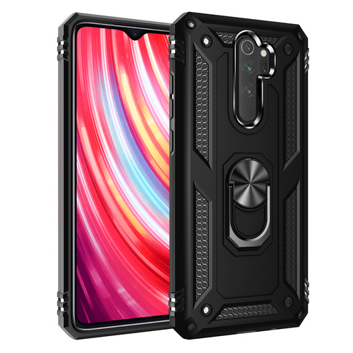 2020 ALL New Luxury Armor Shockproof With Ring Kickstand For Xiaomi Redmi Note8 Pro