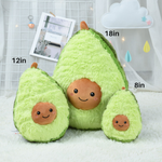 Fluffy Avocado Plushie