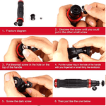 PRO Video Camera stabilizer for GoPro, Smartphone, Canon, Nikon - or Any Camera