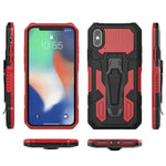 2020 Phone Warrior Multi-function Bracket Belt Clip Case For iPhone