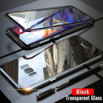Upgraded Two Side Tempered Glass Magnetic Adsorption Phone Case for Samsung S8 S8 Plus