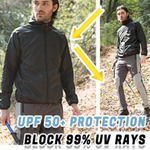Unisex Ultra Light Rainproof Windbreaker Foldable Outdoor Super Light Anti-Uv Coat