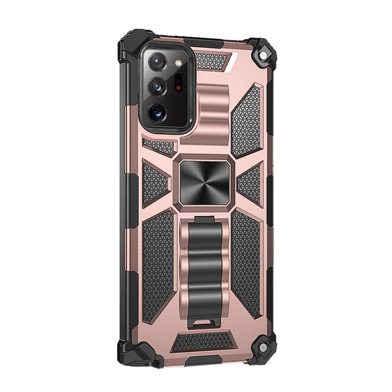 2020 ALL New Luxury Armor Shockproof With Ring Kickstand  For SAMSUNG Note20 Ultra