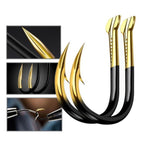 10 Pcs/Pack Tungsten Alloy Bulk Fishing Hook