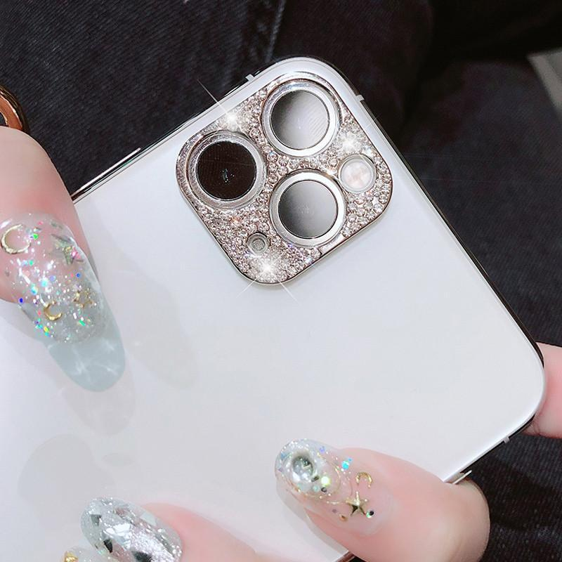Bling Diamond Camera Lens Protector for iPhone 11 Series & Samsung S20 Series