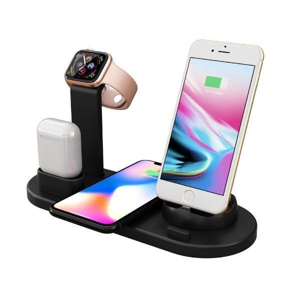 4-IN-1 CHARGING STATION-for Iphone,Apple watch,Airpods or any other phones