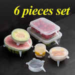 Silicone Stretch Lids  fresh cover