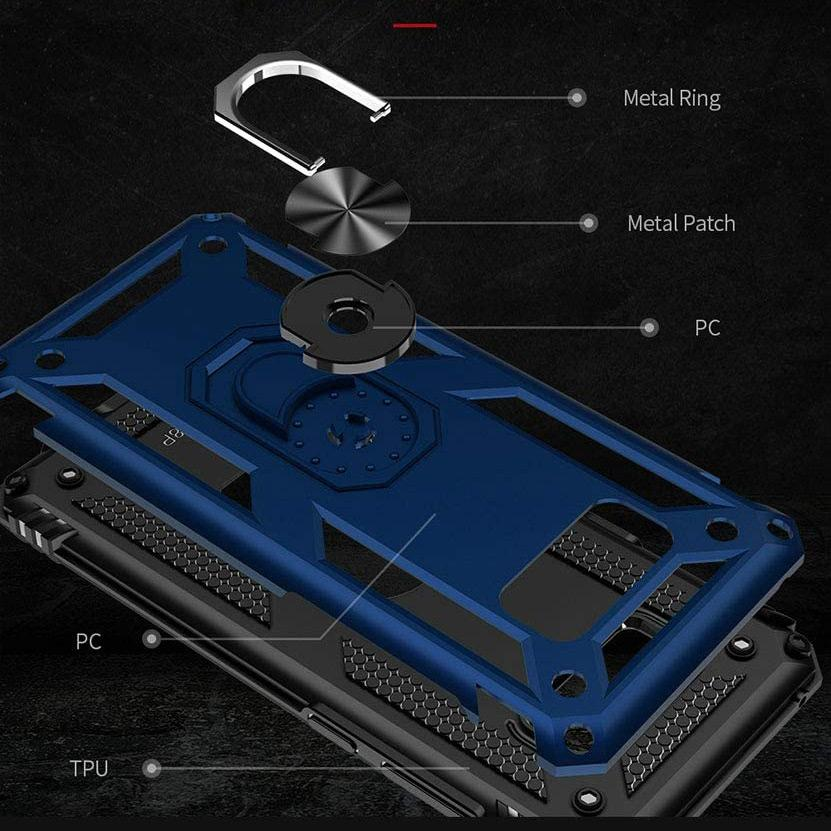 Luxury Armor Ring Bracket Phone Case For Samsung S8-Fast Delivery