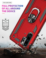 2020 ALL New Luxury Armor Shockproof With Ring Kickstand For HUAWEI P30 Pro