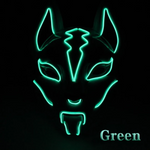 Fox Full Face Neon Mask Light Led Mask