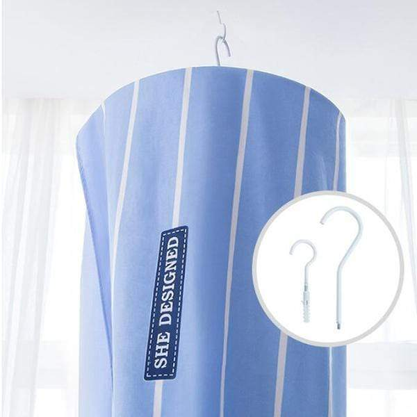 Spiral Hanger-perfect hanger for Sheets and duvet covers