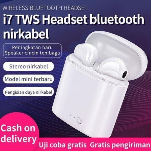 Headset Bluetooth stereo nirkabel