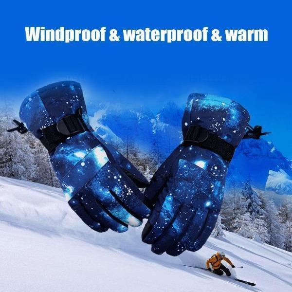 Ski Gloves, 100% Waterproof